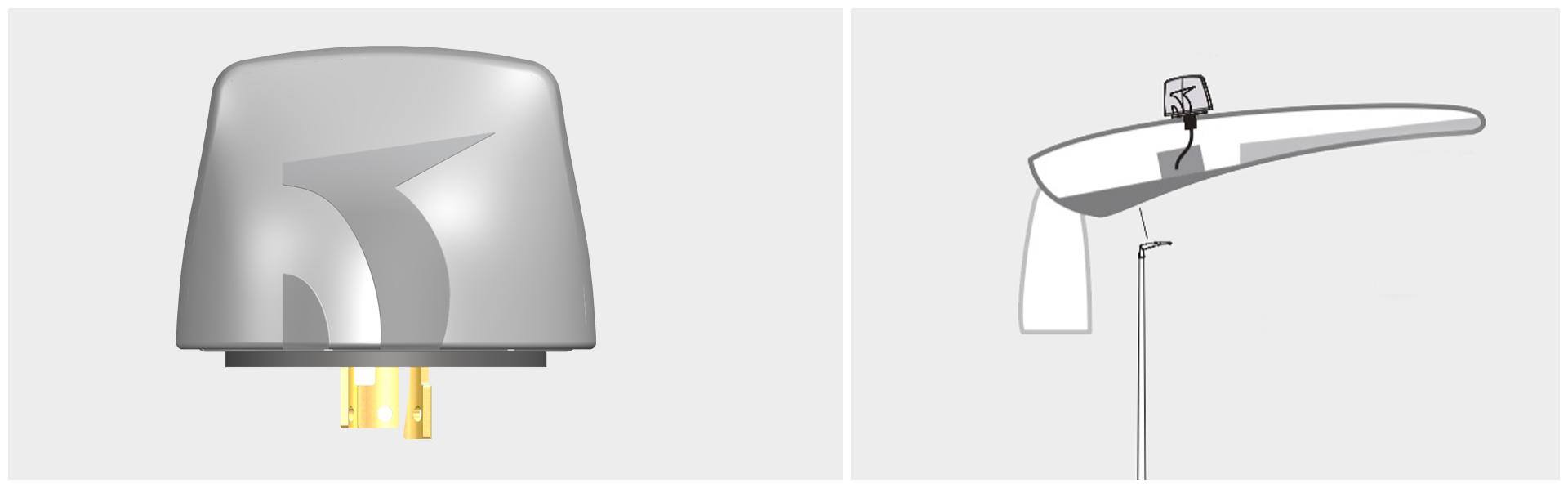 industrial design-licht sensor